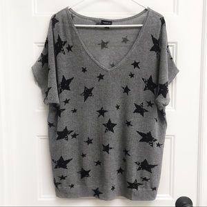 Torrid Loose Knit Star Top